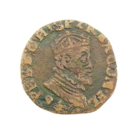 Vlaanderen, Brugge, maille 1591, R