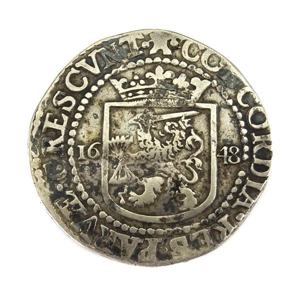 Zeeland, ½ Rijksdaalder 1648