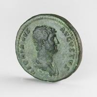 Roman Empire, Hadrianus (117-138 AD), Æ As or Dupondius