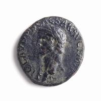 Roman Empire, Claudius (41-54 AD),Æ Dupondius, incusum