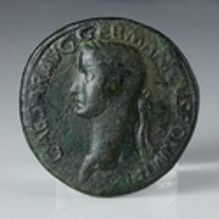 Roman Empire, Caligula, Æ Sestertius 'The Three Graces'