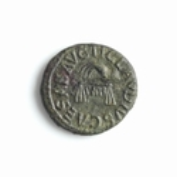 Roman Empire, Claudius (41-54 AD), Æ Quadrans