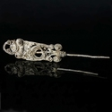 Iron Age, Celtic silver filigree hairpin