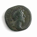 Roman Empire, Marcus Aurelius (161-180 AD), Æ Sestertius