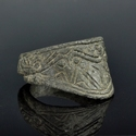 Anglo-Saxon / Viking bronze archers ring