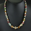 Necklace with Roman glass, faience and shell beads