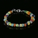 Bracelet with Roman multicoloured glass beads
