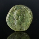 Roman Empire, Commodus (177-192 AD), Æ Dupondius