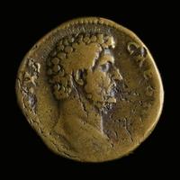 Roman Empire, Aelius (Caesar 136-138 AD), Æ Sestertius
