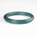 Roman aquamarine / blue glass bracelet