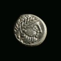 Danubian Celts, AR Drachm, 'Kugelwange' type