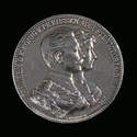 Prussia, Wilhelm II (1888-1918), silver medal anniversary