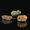 Roman amber beads, rare