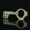 Roman bronze folding key