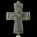Byzantine bronze Enkolpion