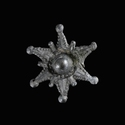 Medieval pewter badge, Star