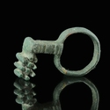 Roman bronze key ring