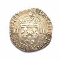 France, 1/4 Ecu 1579
