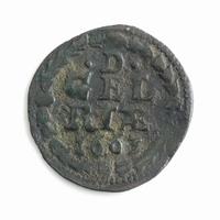 Gelderland, duit 1663