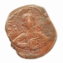 Byzantine Empire, Anonymous 'Portrait of Christ' Æ follis