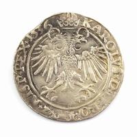 Brabant, Antwerpen, AR 4-stuiver (Vlieger of Krabbelaar)1536