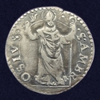 Italian States, Duchy of Milan, Denaro da 8 Soldi (½ Teston)