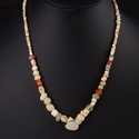 Necklace with various ancient beads