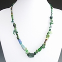 Necklace with Roman glass beads