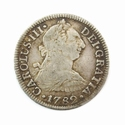 Spain, 2 Reales 1782, Mexico mint (Colonial Spain)