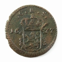 Sweden, 1 Öre 1677