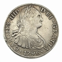 Spain, 8 Reales 1796, Mexio mint (Colonial Spain)