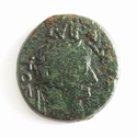 Roman Provincial, Macedon Thessalonika, Tiberius & Livia Æ21