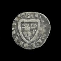 France, Nevers, AR Denier, 1280-1296