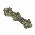 Merovingian bronze equal armed brooch