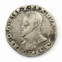 Brabant, Maastricht, ½ Philipsdaalder 1564, RRR