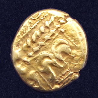 Celtic gold stater, Whaddon Chase type from the Trinovantes tribe