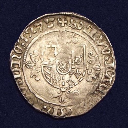 Vlaanderen, Brugge, dubbel vuurijzer (double briquet), struck under Mary of Burgundy in 1478