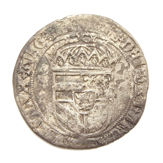 Brabant, double stuiver, struck under Philip the Handsome (Filips de Schone or Philip the Fair)