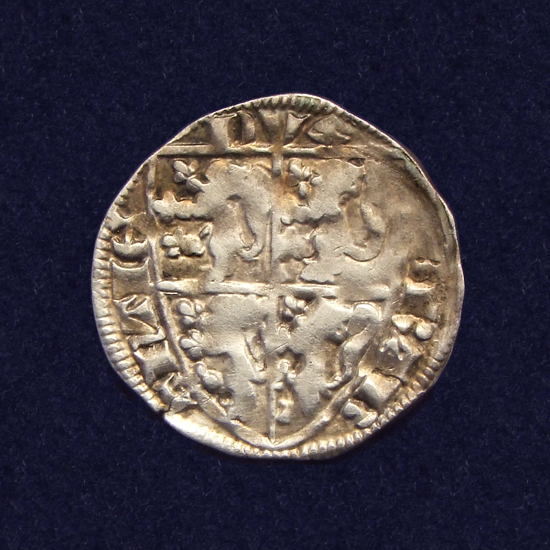 Brabant, AR Sterling, struck in Leuven under Jan III