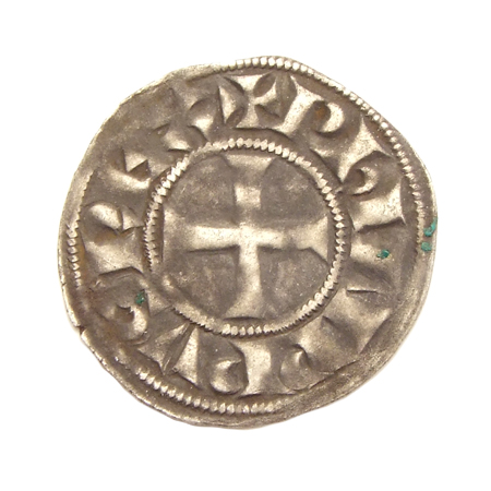 France, Denier Tournois, struck between 1285-1290 under Philip IV