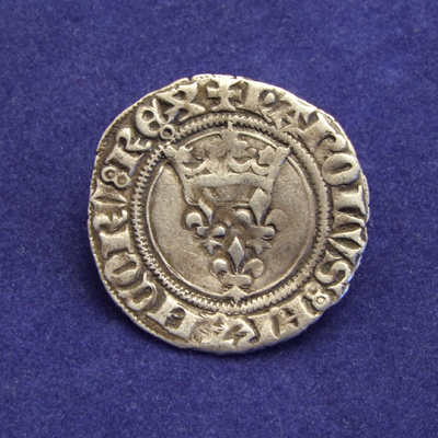 France, Florette, struck under Charles VI between 1380-1422 (2nd Royal Emission, Paris)