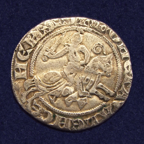Hainaut, 2/3 Ruitergroot, struck in Valenciennes under Margaret of Constantinople