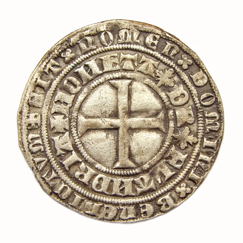 Vlaanderen, dubbele groot 'Leliaard', struck under Philip the Bold