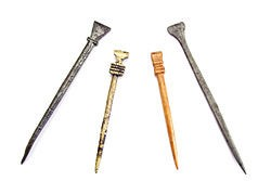 Examples of different Medieval styli