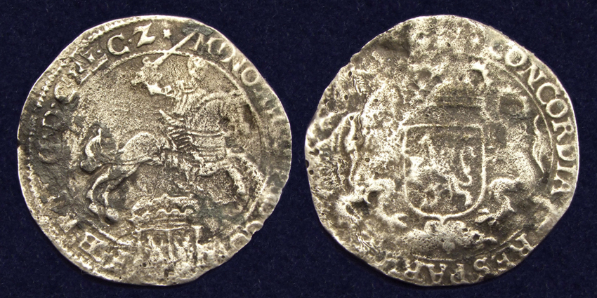 Gelderland, Ducat 1659-1677, recovered from the 'Meeresteijn'