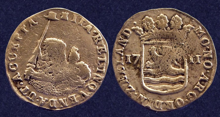 Zeeland, hoedjesschelling 1711, retrieved from the 'Zuytdorp' shipwreck