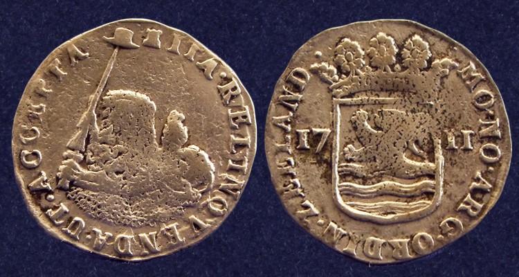 Zeeland, hoedjesschelling 1711, retrieved from the 'Zuytdorp' shipwreck